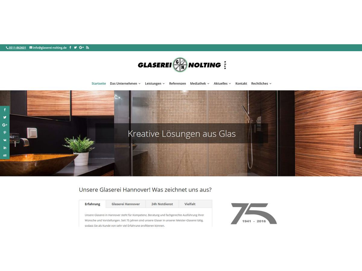 Glaserei-Nolting-Hannover-Homepage-Webdesign