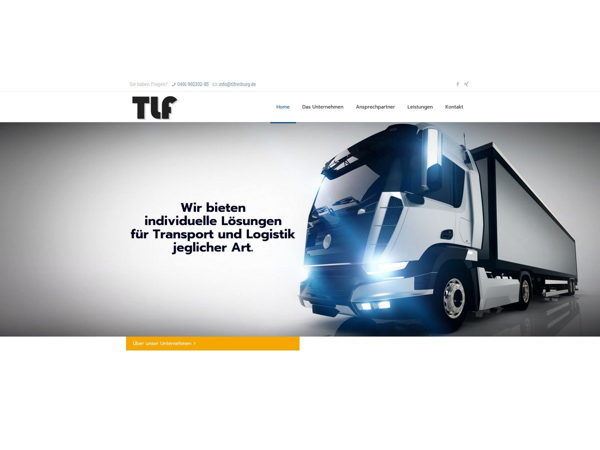 Transport-Logistik-Freiburg-TLF-Homepage-Speditionen-Webdesign