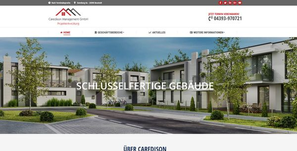 Caredison-Management-GmbH-Prometheus-Webdesign