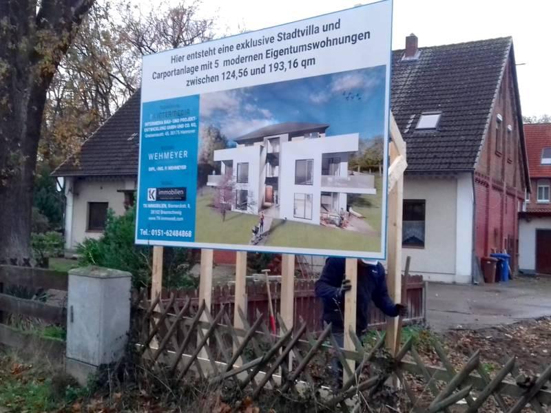 bauschild-erstellen-agentur-hannover-druck-druckerei-prometheus
