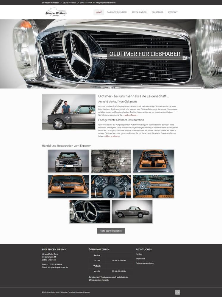 Oldtimer Website