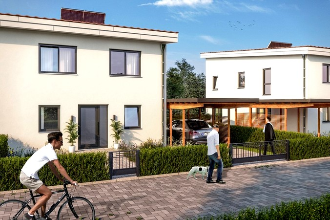 3-D Visualisierung Wohngebiet