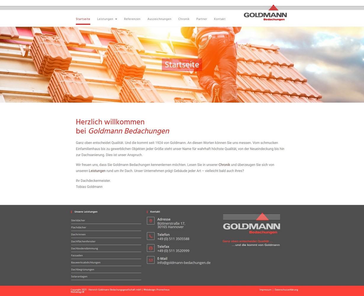 Goldmann Bedachungen Hannover